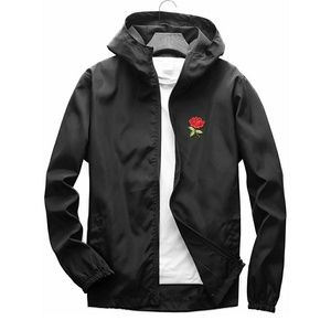 Other - Rose Floral Windbreaker